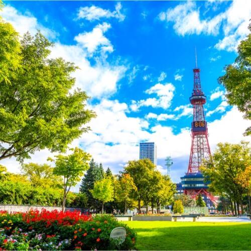 Odori puisto Sapporo